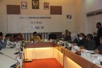 Ketua Mahkamah Syar'iyah Aceh Temu Ramah Dengan Komisi VI DPRA.