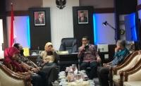 Ketua Mahkamah Syar'iyah  Aceh Audiensi dengan Ketua DPRA