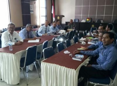 Panitera MS Aceh Bahas Materi Rakor