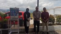 PT. BRI KCP Bener Meriah Serahkan Wastafel Cuci Tangan Kepada MS Simpang Tiga Redelong